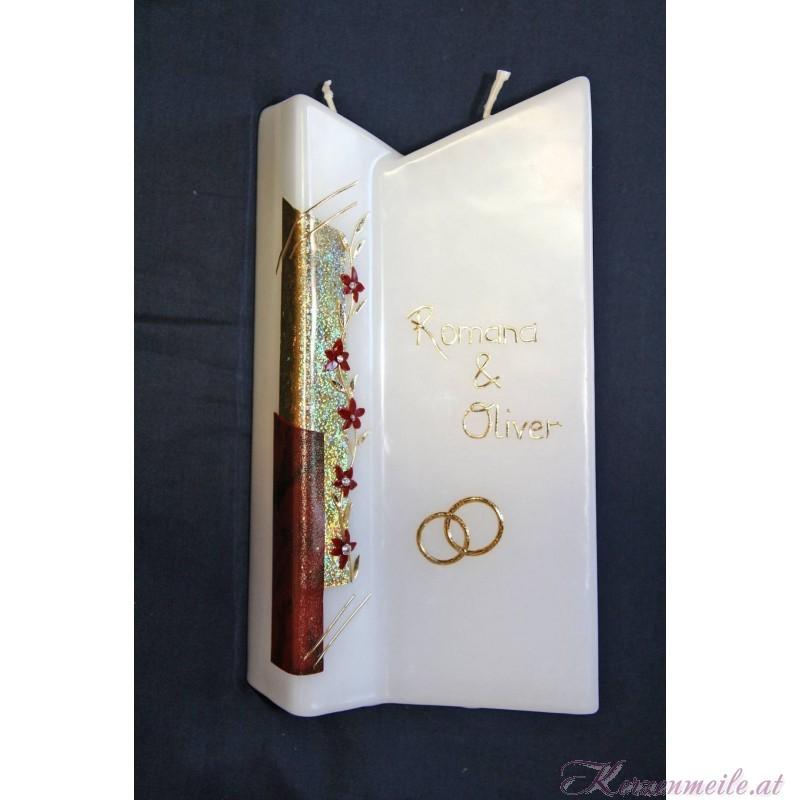 Hochzeitskerze Spirit 1 Hochzeitskerzen-klassisch elegant