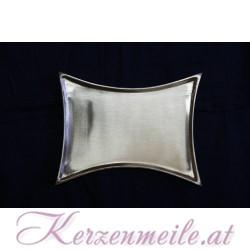 Kerzenteller Konkav Silber