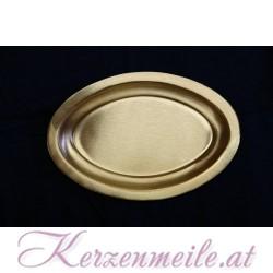 Kerzenteller EU Gold