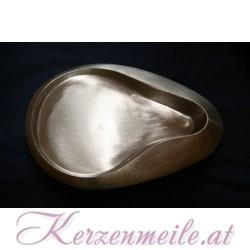 Kerzenteller Fluegel Silber