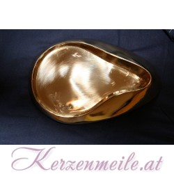 Kerzenteller Fluegel Gold