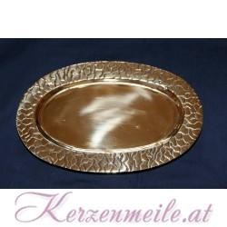 Kerzenteller Krakelee Gold Kerzenteller/Zubehör