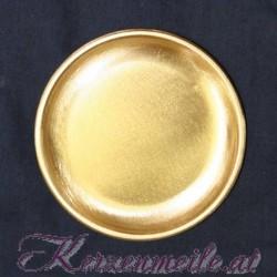Kerzenteller Liechtenstein Gold