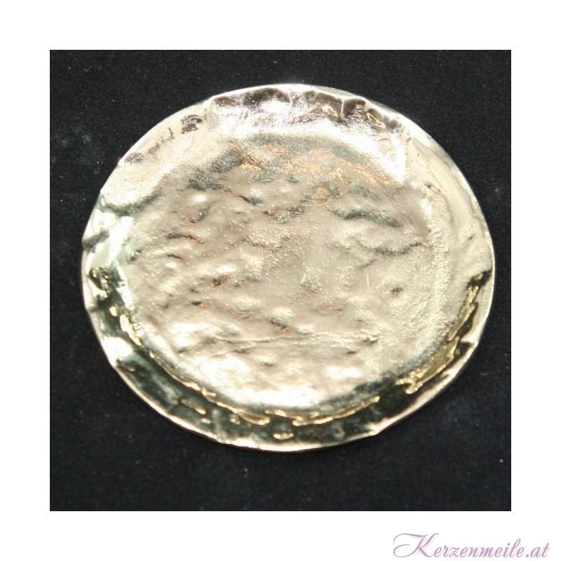 Kerzenteller Hammerschlag klein Kerzenteller/Zubehör