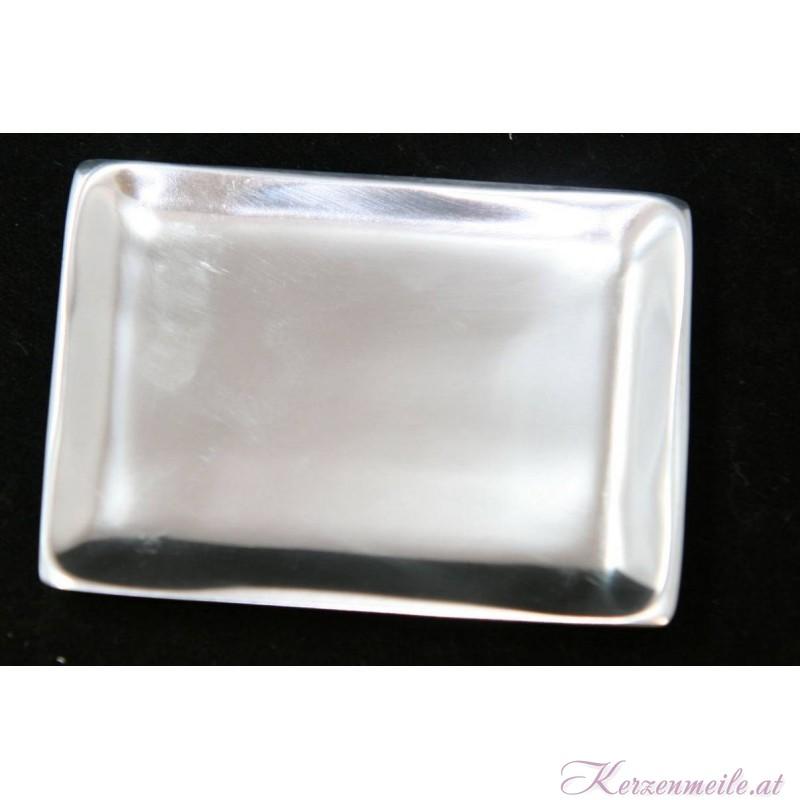 Kerzenteller Rechteck Silber Kerzenteller/Zubehör