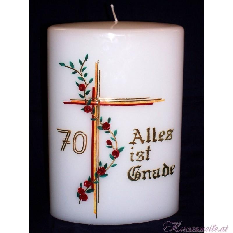 Kerze Alles ist Gnade Sonderanfertigungen