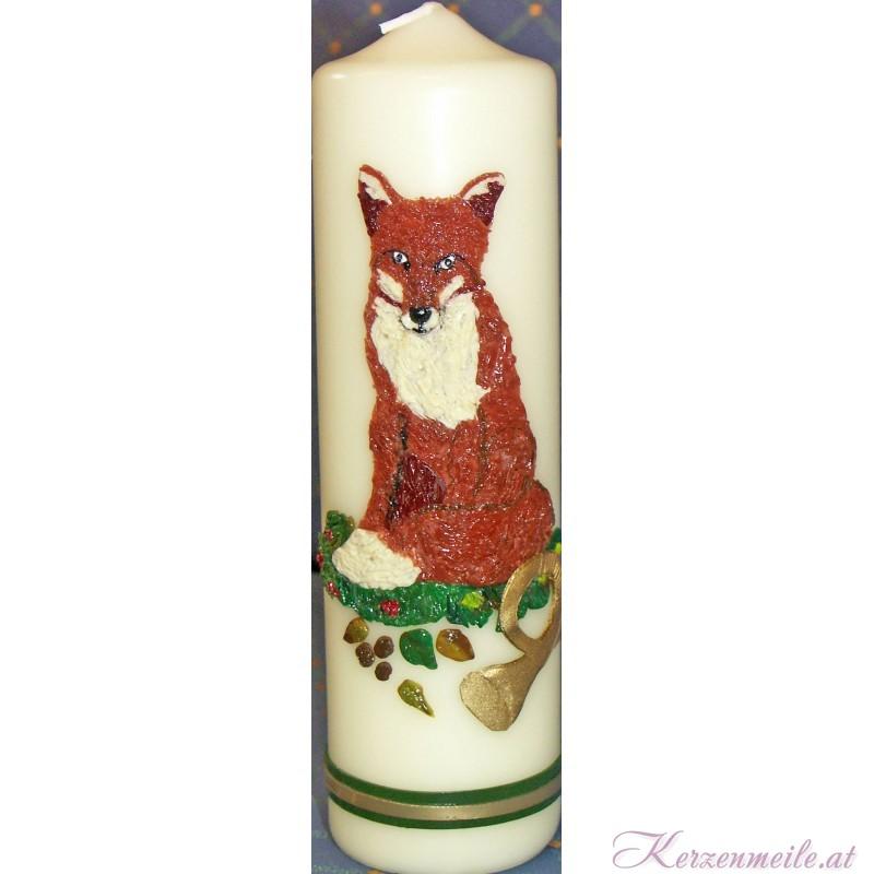 Kerze Fuchs Sonderanfertigungen