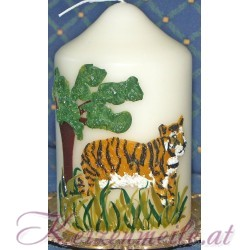 Kerze Tiger Sonderanfertigungen