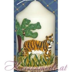 Kerze Tiger