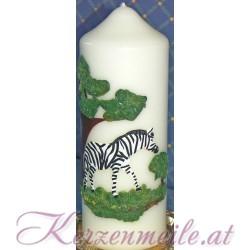 Kerze Zebra Sonderanfertigungen