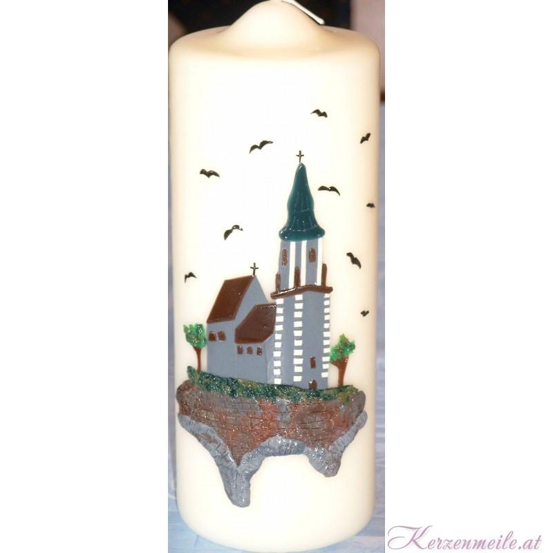 Kerze Pfarrkirche Emmersdorf Sonderanfertigungen