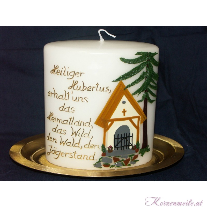 Kerze Heiliger Hubertus Sonderanfertigungen