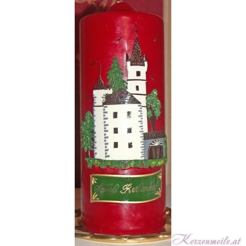 Kerze Schloss Rothenhof Sonderanfertigungen