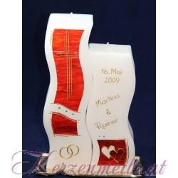 Hochzeitskerze Red