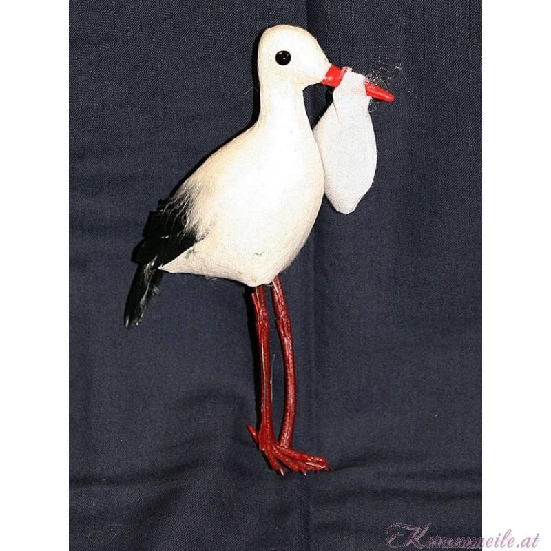 Dekoration Storch mit Baby Dekoration Taufe