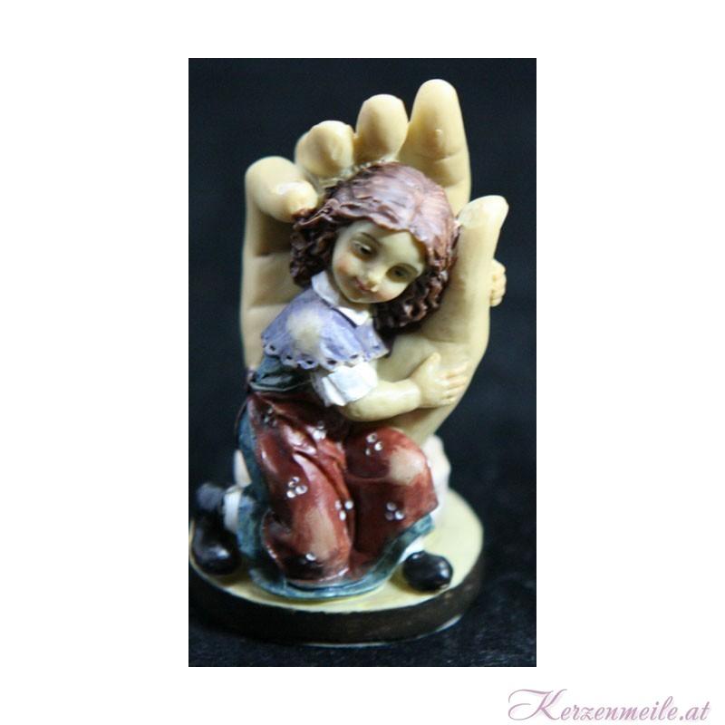 Schützende Hand Mädchen