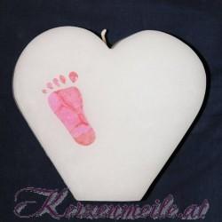 Kerze Kleiner Fuss 1 Geburts- u. Lebenskerzen