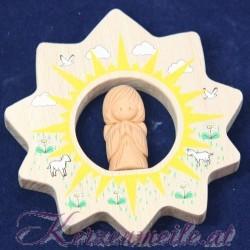 Schutzengel auf Sonne