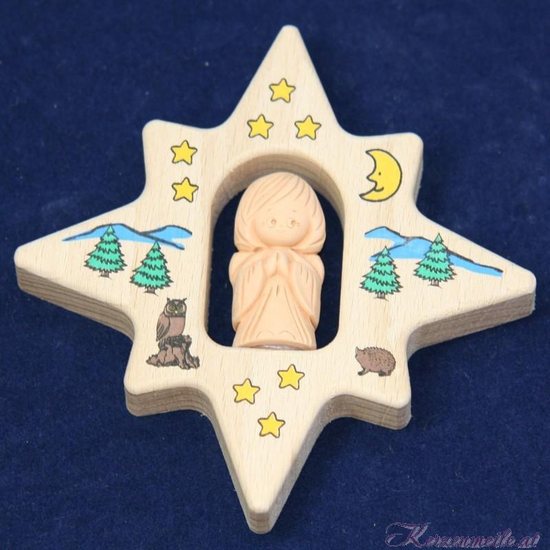 Schutzengel auf Stern