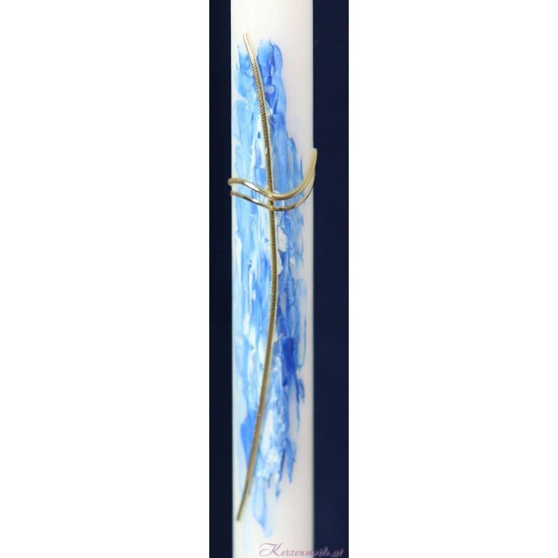 Taufkerze und Kleiner blauer Drache Taufkerzen-Kombi-ANGEBOTE