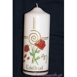 Trauerkerze Red Roses Trauerkerzen und Gedenkkerzen