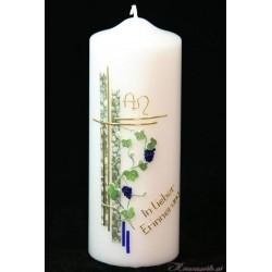 Gedenkkerze Weinrebe Trauerkerzen und Gedenkkerzen