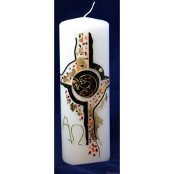 Trauerkerze Cross Trauerkerzen und Gedenkkerzen