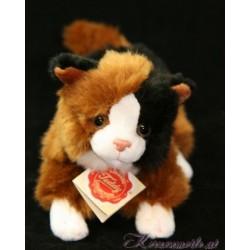 Katze mit Stimme 3 Plüschtiere-Hermann Teddy Collection