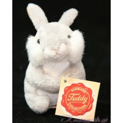 Kleiner Hase grau Plüschtiere-Hermann Teddy Collection
