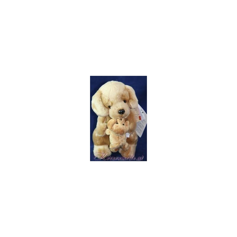 Stofftier Großer und kleiner Hund Plüschtiere-Russ Berrie UK Collection
