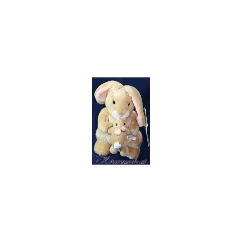 Stofftier Großer und Kleiner Hase Plüschtiere-Russ Berrie UK Collection