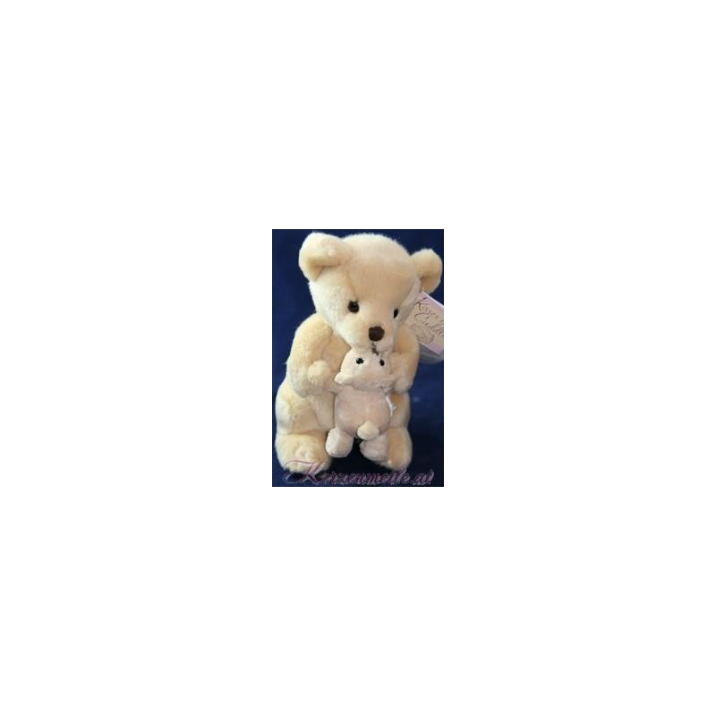 Stofftier Großer und kleiner Bär Plüschtiere-Russ Berrie UK Collection
