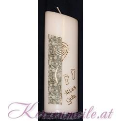 Kerze Mit Gott Taufkerzen-modern