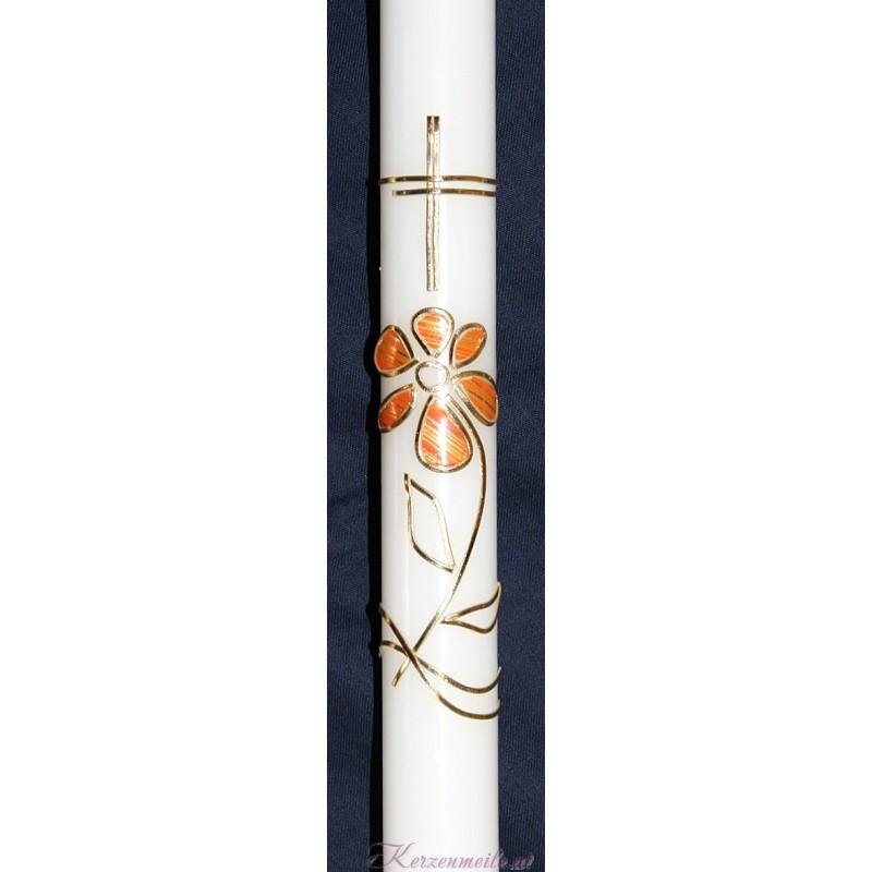 Taufkerze Flower Taufkerzen-modern