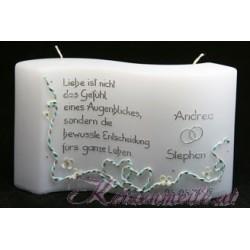 Hochzeitskerze Endless Love Story 1 Hochzeitskerzen-exklusiv