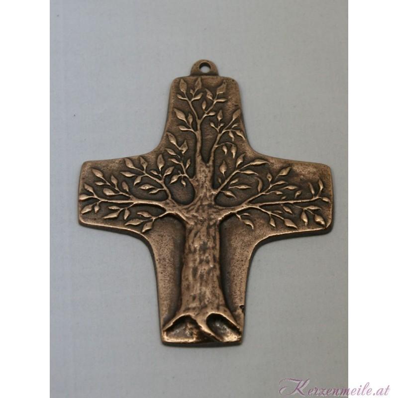 Bronzekreuz Baum