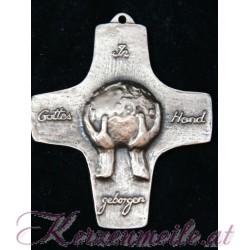 Bronzekreuz Weltkugel