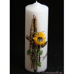 Trauerkerze Sonnenblume Trauerkerzen und Gedenkkerzen