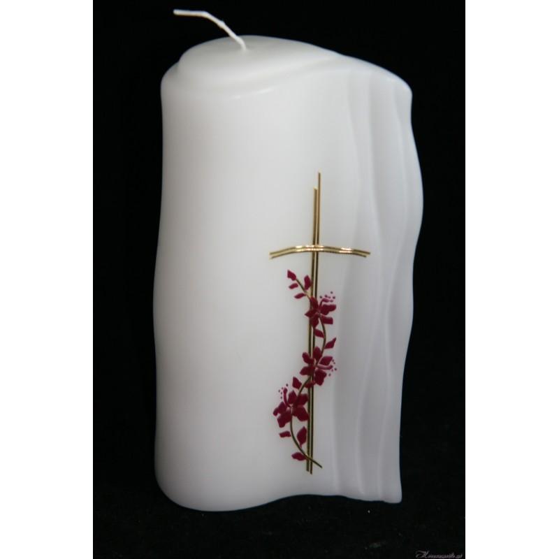 Hochzeitskerze Fleur Hochzeitskerzen-klassisch elegant