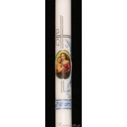 Taufkerze Heilige Maria Taufkerzen-exklusiv