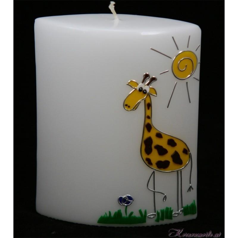Lebenskerze Giraffe Geburts- u. Lebenskerzen