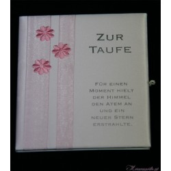 Taufbrief Flower