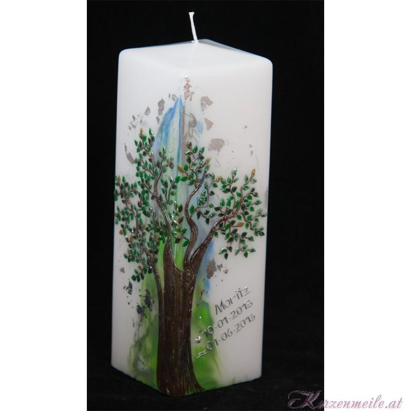 Lebenskerze Baum Geburts- u. Lebenskerzen