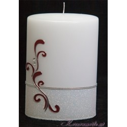Hochzeitskerze Glittering