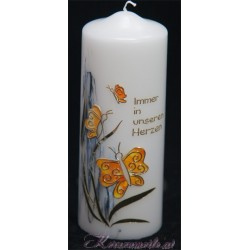 Trauerkerze Schmetterling Trauerkerzen und Gedenkkerzen