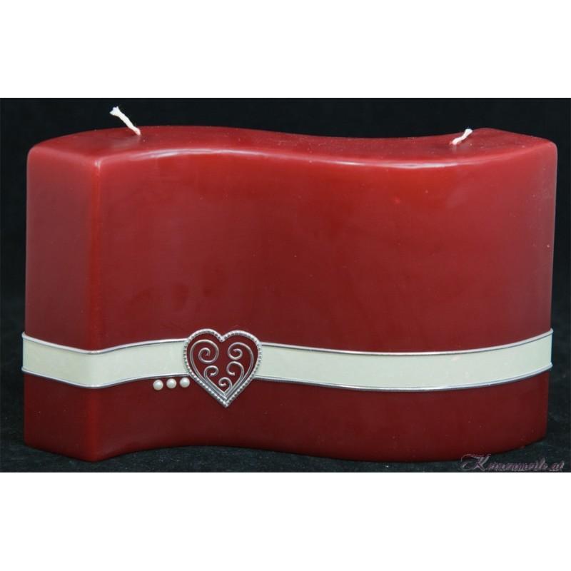 Hochzeitskerze Rot Hochzeitskerzen-exklusiv