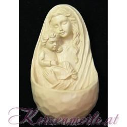Weihwasserbrunnen Maria mit Kind