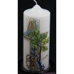 Trauerkerze Grüner Baum Trauerkerzen und Gedenkkerzen