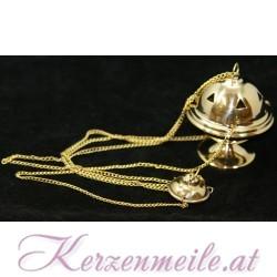 Weihrauchfässchen Gold