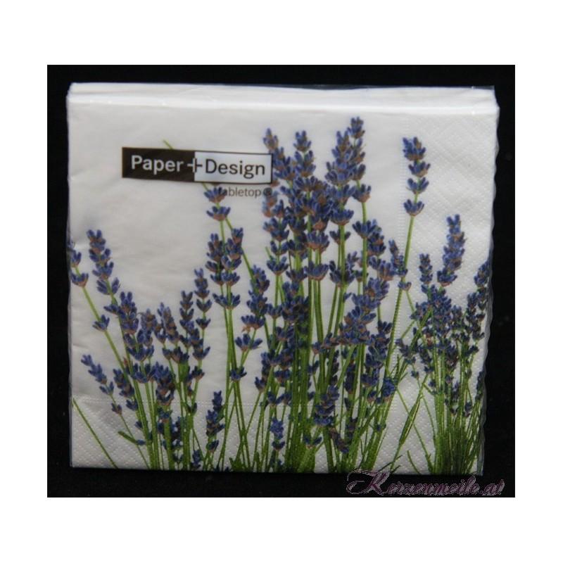 Serviette Lavendel